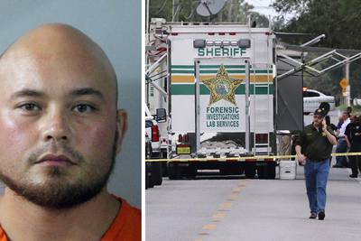 Sheriff: Florida 11-year-old 'played dead and prayed' as 'sniveling coward' gunned down family