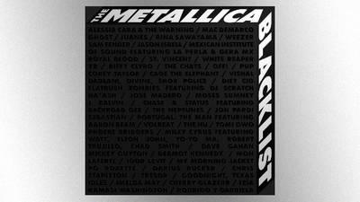 Off to cover cover land: Listen to Metallica's massive 'Blacklist' tribute album