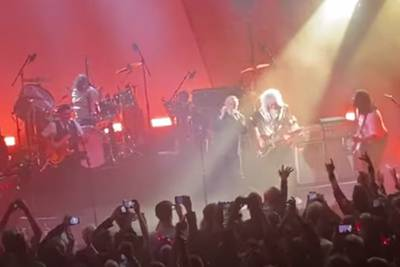 See Brian May Make Surprise Appearance at Roger Taylor Solo Show