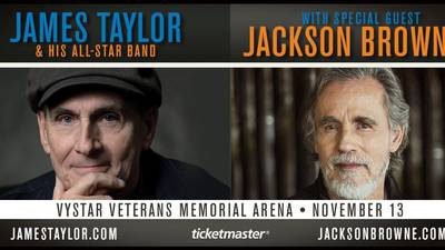 Win Your Way In To See James Taylor!