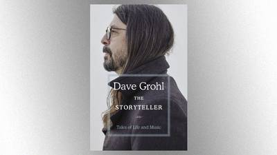Dave Grohl shares trailer for upcoming 'The Storyteller' book; Foo Fighters earn new 'Billboard' chart feat
