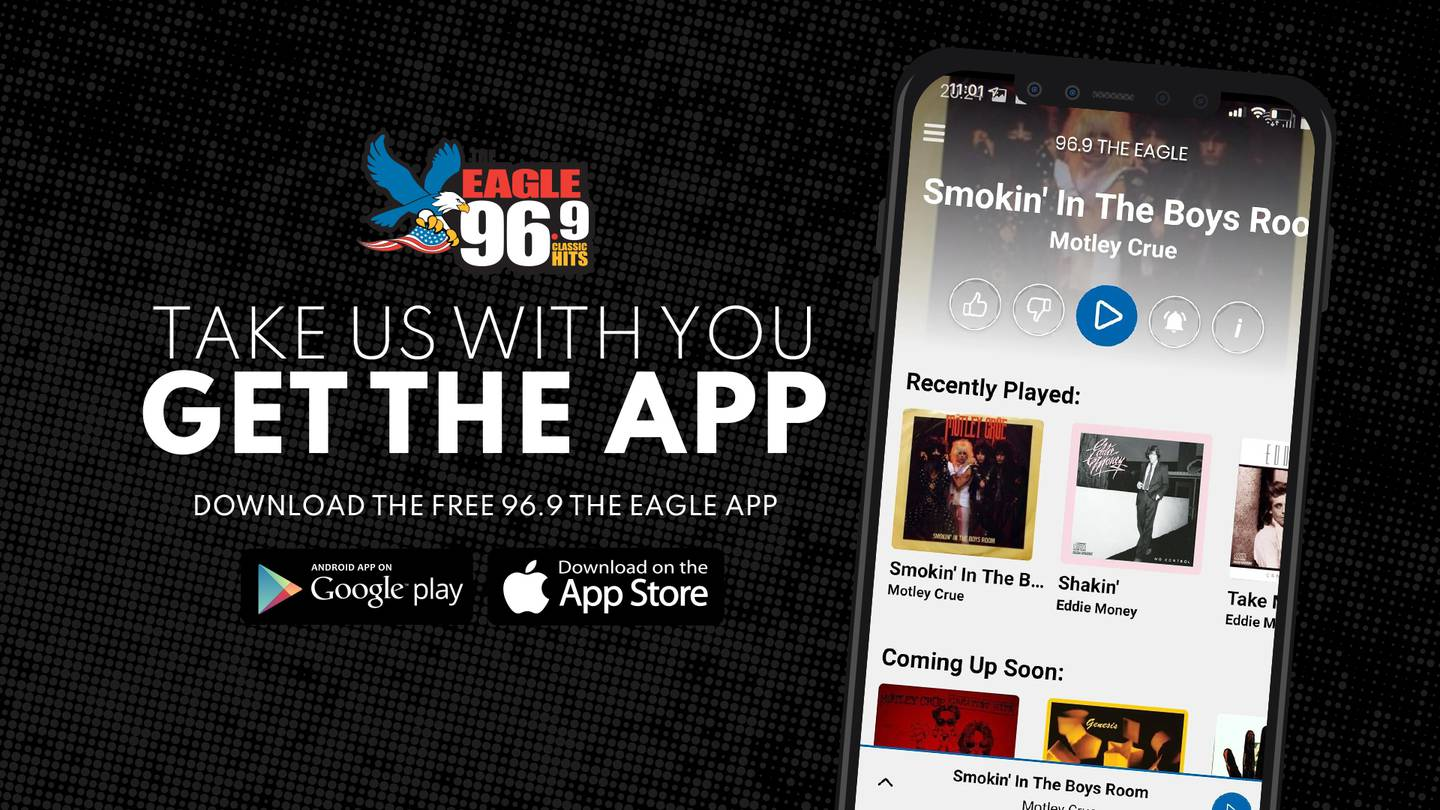 LISTEN LIVE: Listen to 96.9 The Eagle now!