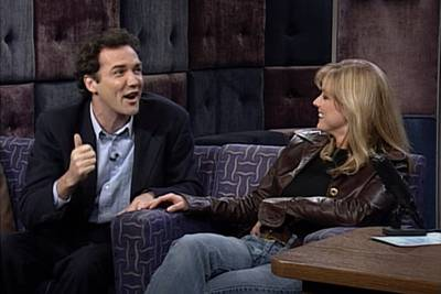 Being Teased by Norm Macdonald Left Courtney Thorne-Smith 'Giddy'